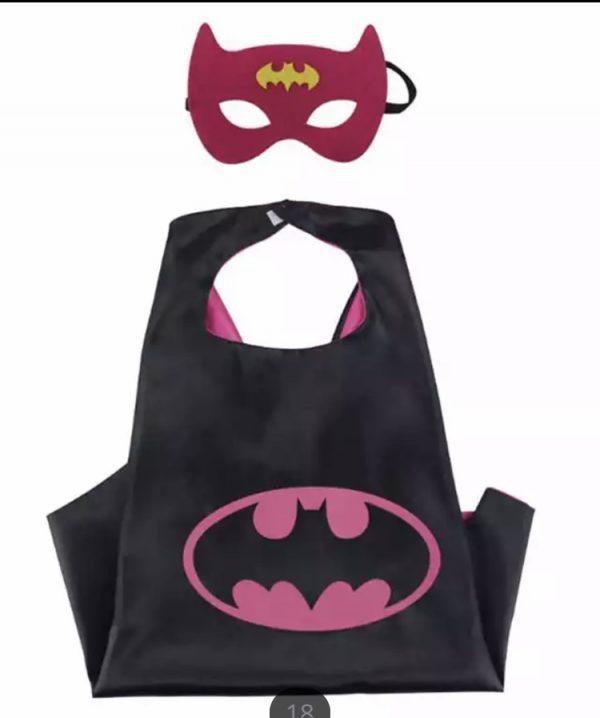 batman verkleedset. Cape en masker van Batman