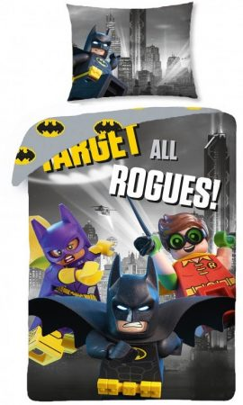 Dekbed met Batman Lego.