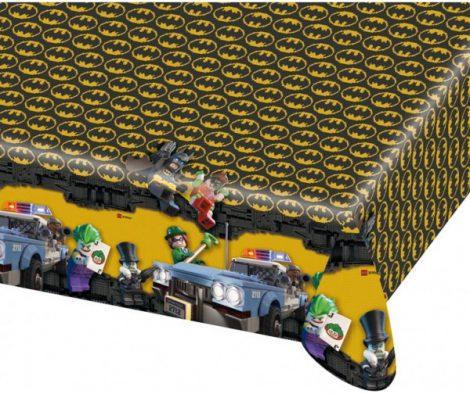 Tafelkleed Batman. Voor een Batman Lego feestje.