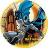Batman bordjes voor een Batman feestje. Stevige bordje van karton met Batman erop
