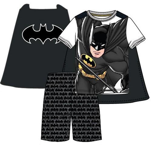 Shortama van Batman, cape kan eraf. Batman zomer pyjama