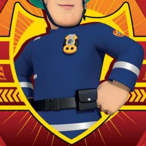 Brandweerman Sam handdoek
