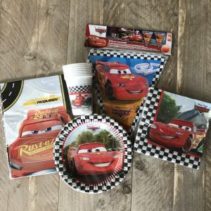 Cars complete feestset