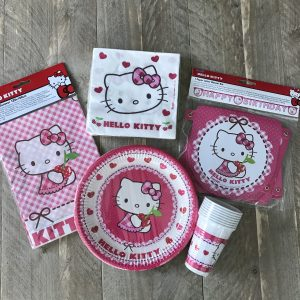 Hello Kitty complete feestset