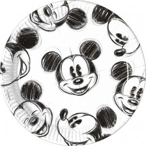 Mickey Mouse bordjes