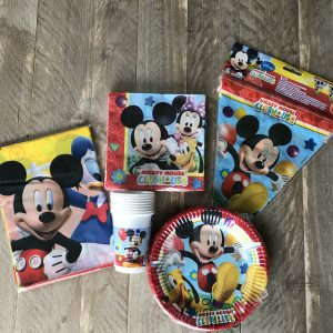 Mickey Mouse complete feestset