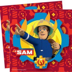 Brandweerman Sam servetten