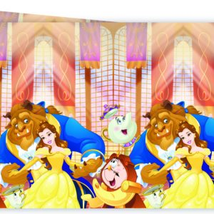 Belle en het beest tafelkleed