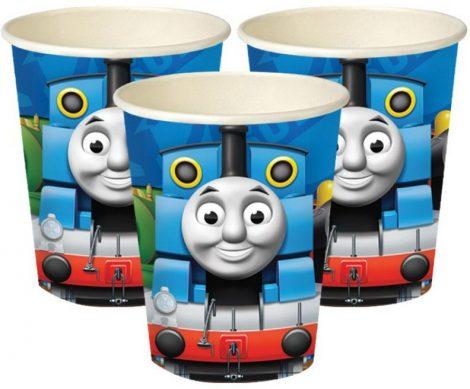 Feestbekers Thomas de trein. Bekers voor een Thomas de trein feestje.