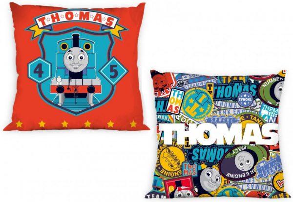 Kussen Thomas de trein. Kussenhoes Thomas de trein.