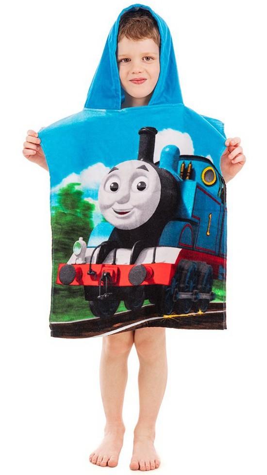 Poncho van Thomas de trein.