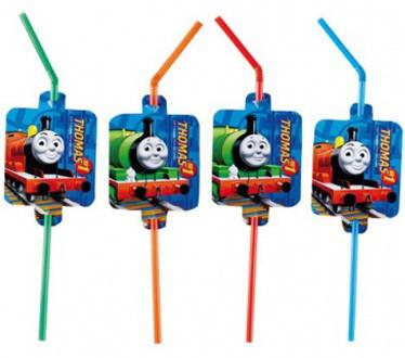 Rietjes van Thomas de trein. Voor een Thomas de trein feestje.