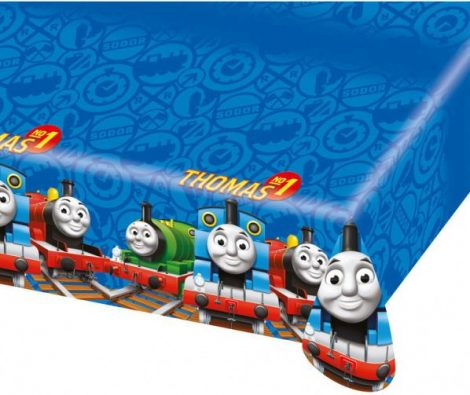 Tafelkleed Thomas de trein. Voor een Thomas de trein feestje.