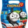 Uitdeelzakjes van Thomas de trein. Thomas de trein feestje.
