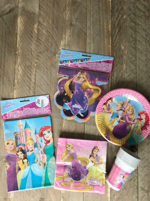 complete feestset prinsesjes 2
