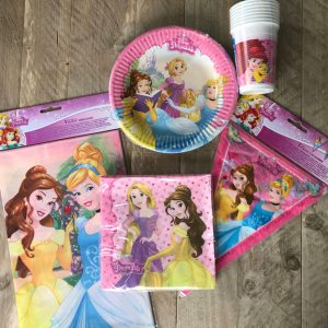 Prinsesjes complete feestset