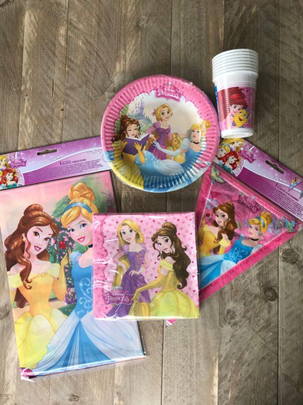 complete feestset prinsesjes