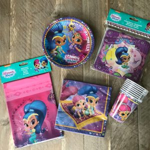 Complete feestset Shimmer and Shine