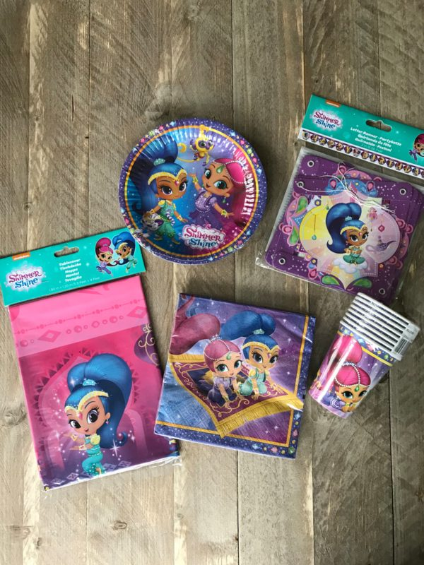 Feestartikelen shimmer and shine