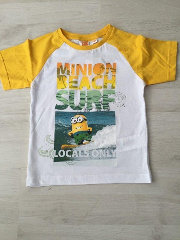 minion shirt geel