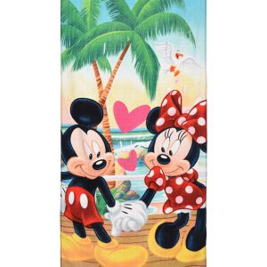 handdoek minnie en mickey mouse
