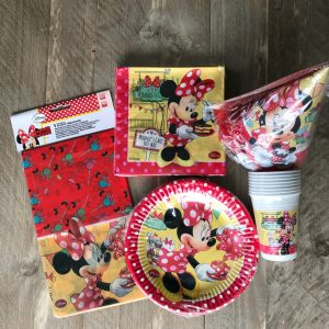 Minnie Mouse feestset