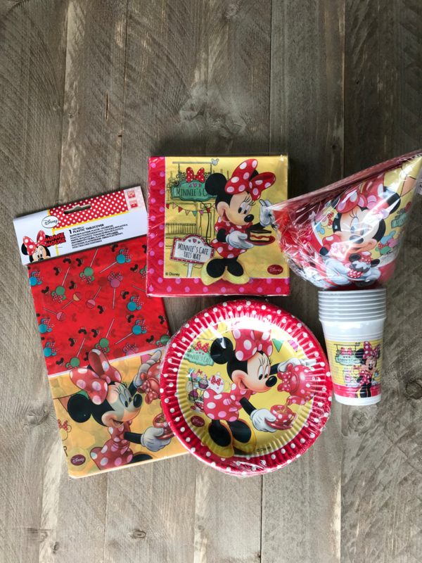 minnie mouse feestset 2