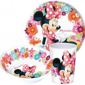 Minnie mouse ontbijtset
