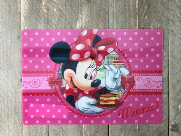 minnie mouse placemat 2