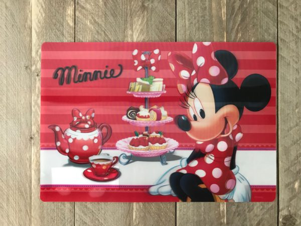 minnie mouse placemat 3