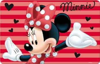 minnie mouse placemat 4