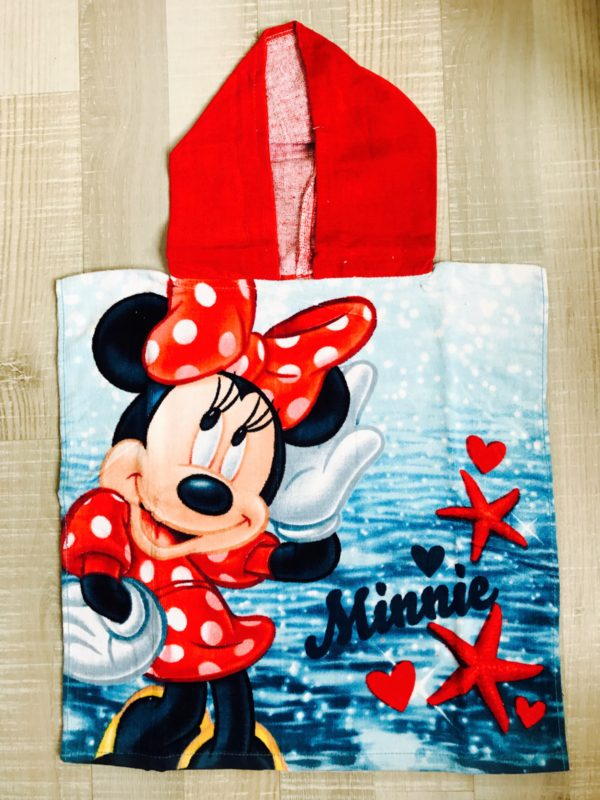 poncho minnie mouse voorkant