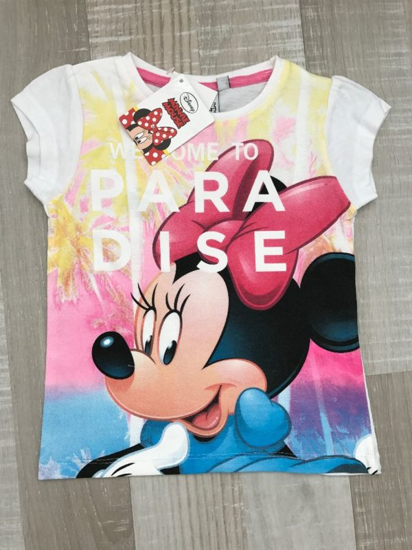 minnie mouse shirt wit geel