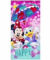 minnie mouse strandhanddoek