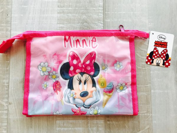 minnie mouse toilettas