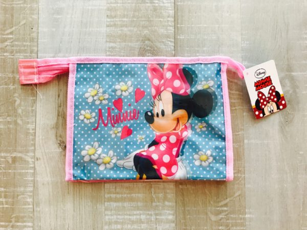 minnie mouse toilettas licht roze
