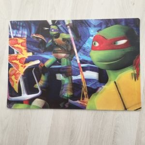 Ninja Turtles placemat