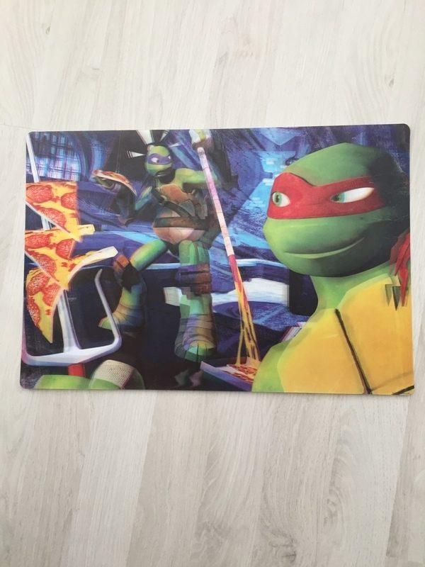 ninja turtles placemat