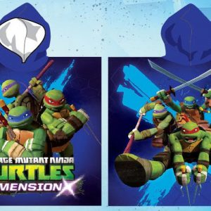 Ninja Turtles poncho