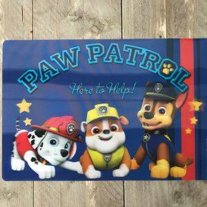 Paw Patrol placemat 3D