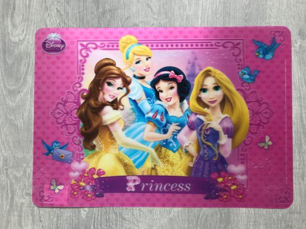 placemat prinsesjes