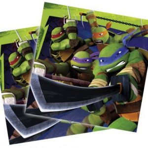 Ninja Turtles servetten