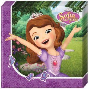 Servetten Prinses Sofia
