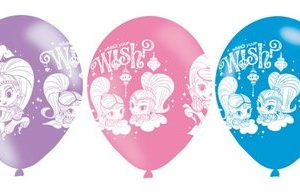 Shimmer and Shine ballonnen