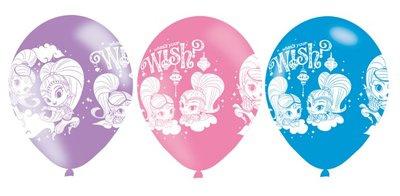 Versiering Shimmer and Shine, ballonnen