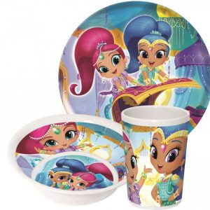 ontbijtset shimmer and shine