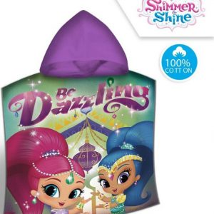 Shimmer and Shine poncho