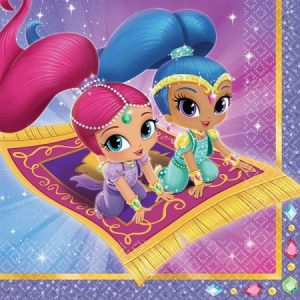 Servetten Shimmer and Shine