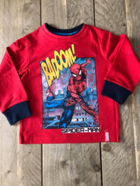 Spiderman shirt lange mouwen