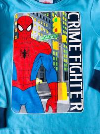 spiderman shirt lange mouwen